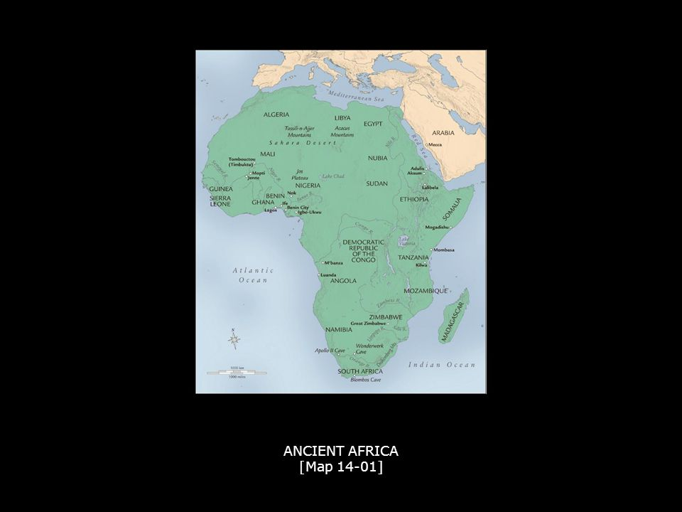 2 ANCIENT AFRICA Map 14 01 ANCIENT AFRICA